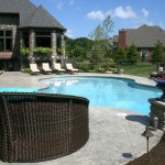 custom ranch outdoor living pool hudson, ohio