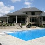 custom home outdoor living pool hudson, ohio
