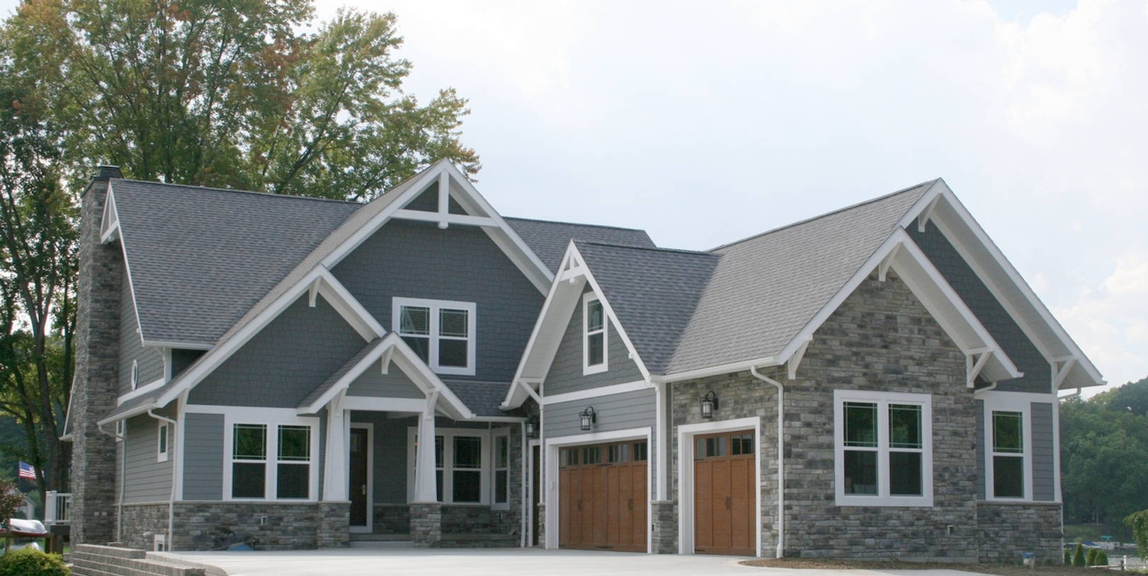 Prestige homes custom home builder luxury exteriors gallery for New construction craftsman style homes