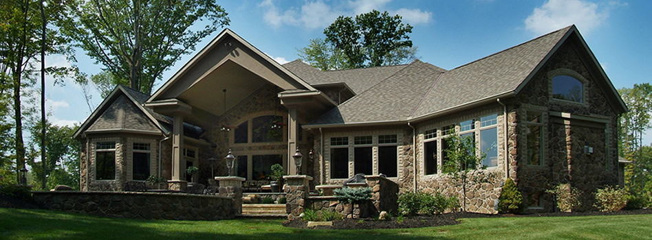 Exteriors prestige homes luxury home builders for Luxury home exteriors