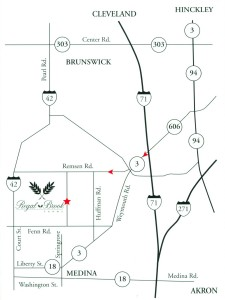 Regal Brook Area Map