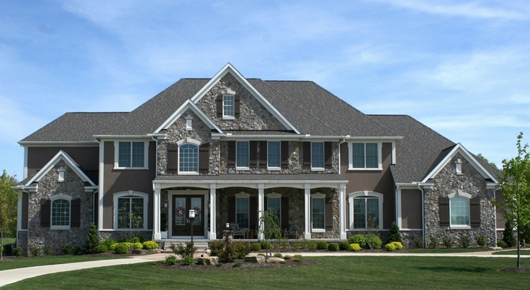 Six new akron hba envision awards prestige homes for 8000 square foot building