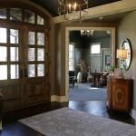 New Hudson model home foyer
