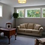 new Hudson model home lower level bedroom
