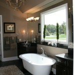 new Hudson model home master bath