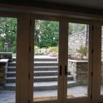 new Hudson model home walkup lower level