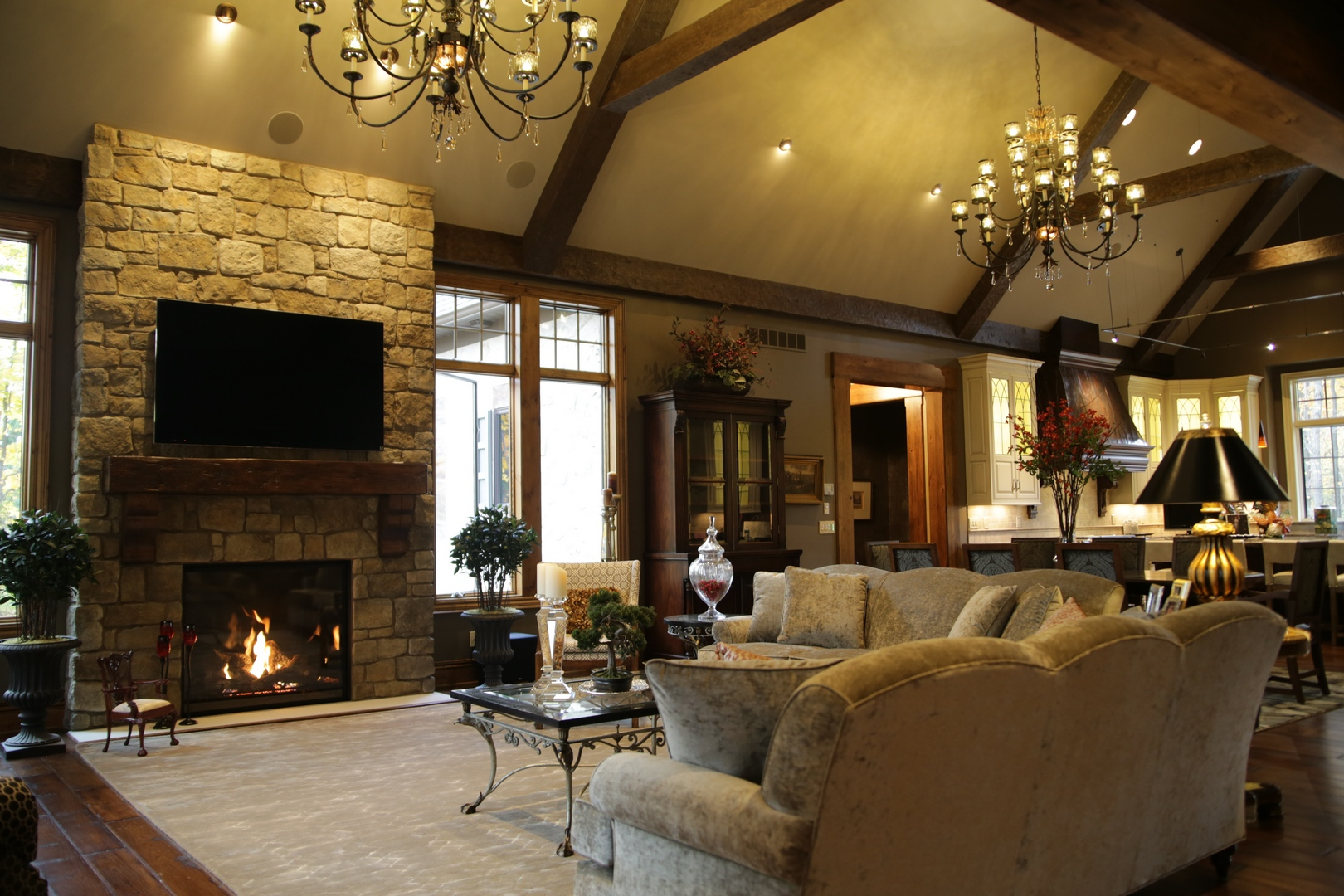 Kc02 Family Room 1 Prestige Homes Luxury Home Builders