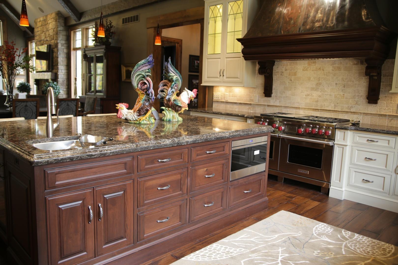 kc02 kitchen island prestige homes luxury home builders. Black Bedroom Furniture Sets. Home Design Ideas