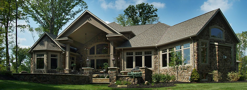 Prestige homes custom home builder luxury exteriors gallery Custom ranch homes