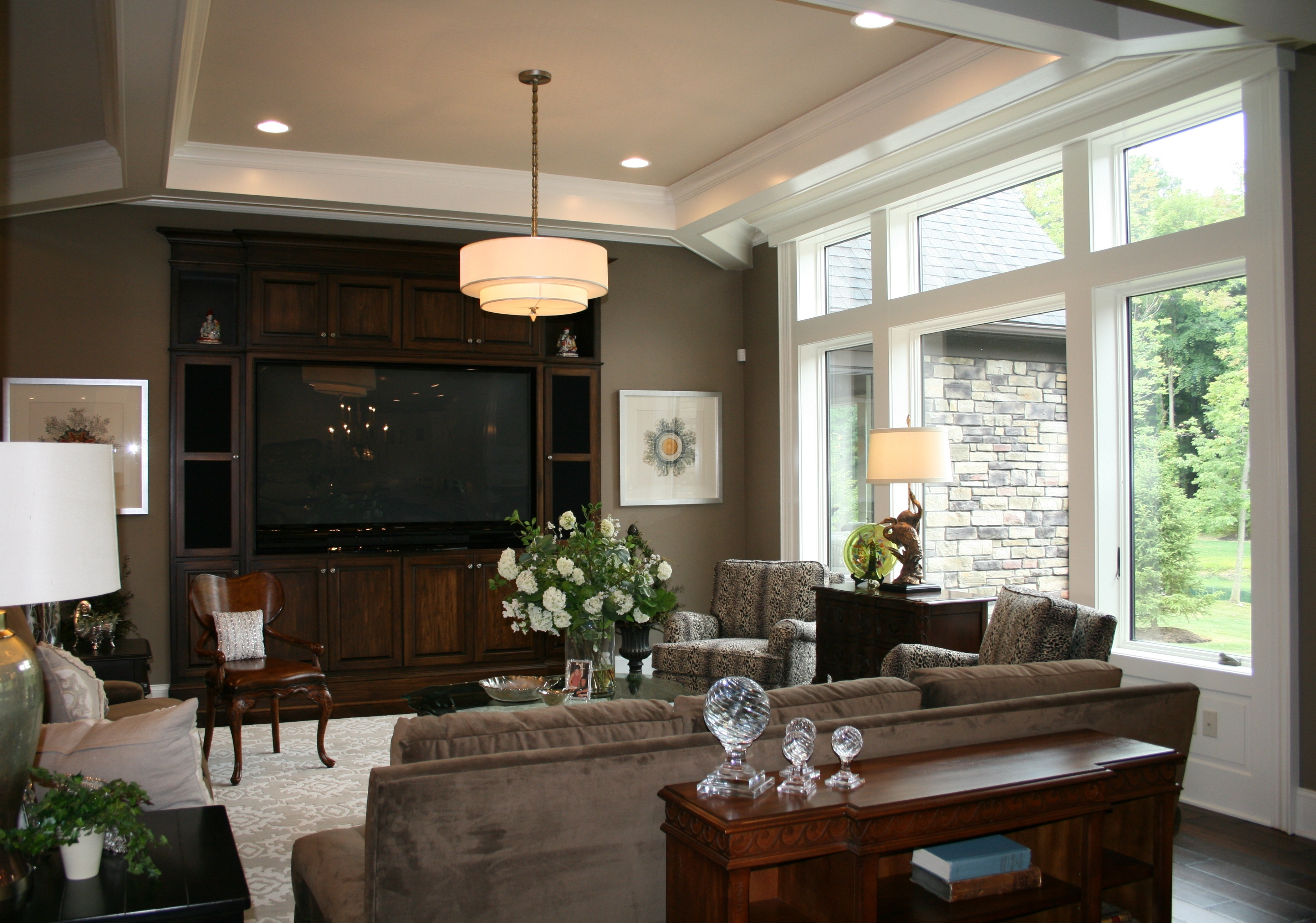 Ec15 Family Room Prestige Homes Luxury Home Builders