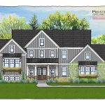 modern farmhouse, split level, new home, luxury home Ohio