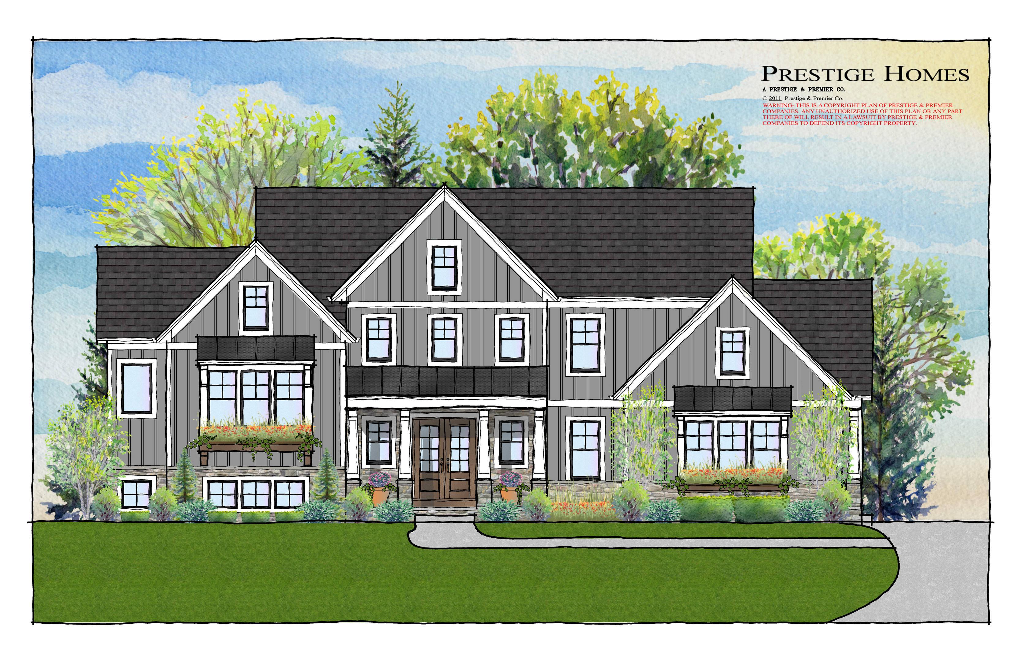 modern farmhouse, split level, new home, luxury home Ohio