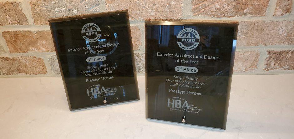 new homes Ohio, luxury homes, new home awards, award winning builder